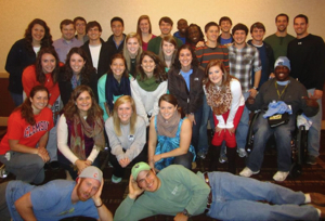 Clemson students at JAX 2012